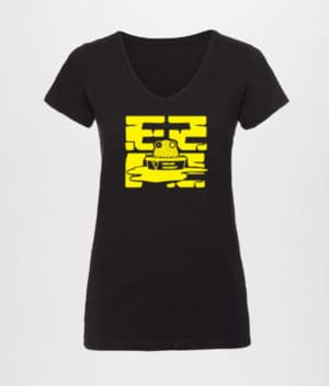 ComKean - Black EZPZ T-shirt (Ladies)