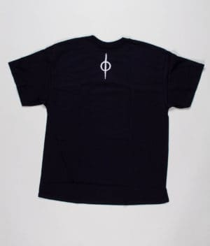 livløs-black-t-shirt-with-white-deer-back