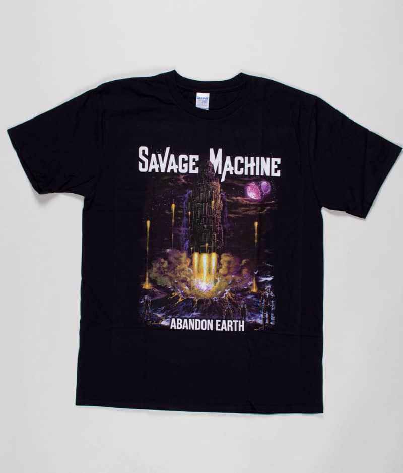 savage-machine-abandon-earth-albumcover-t-shirt-guys
