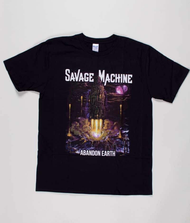 savage-machine-abandon-earth-albumcover-t-shirt-guys