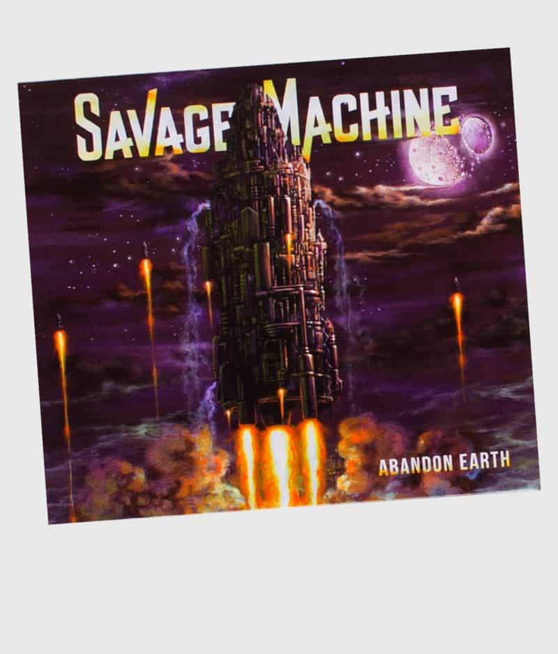 savage-machine-abandon-earth-cd-front