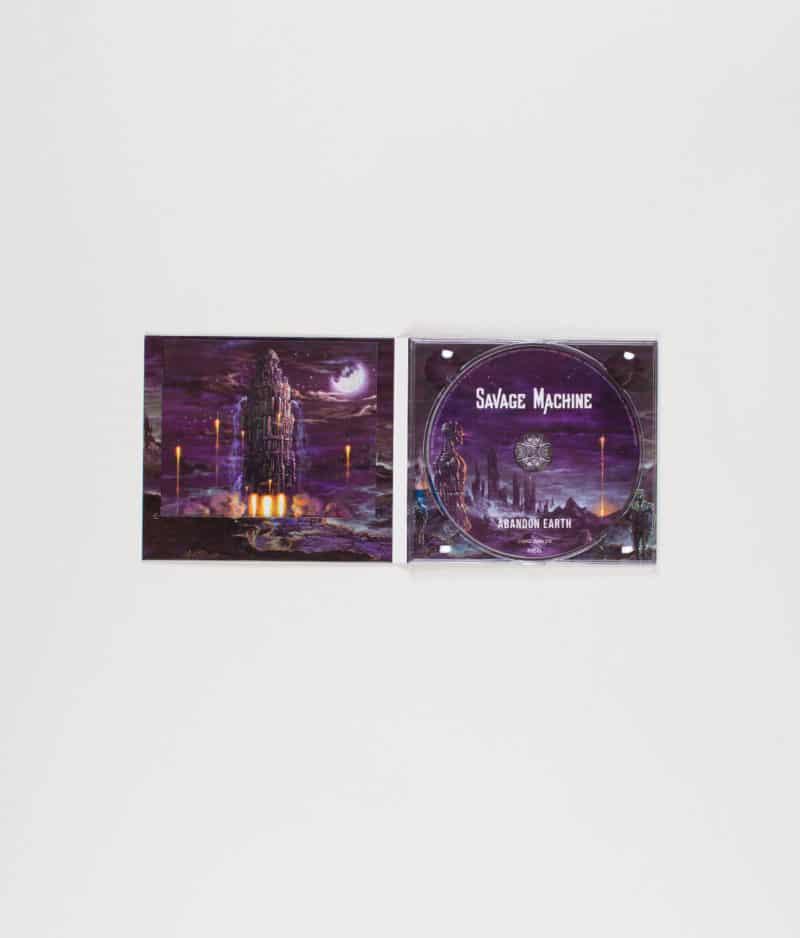 savage-machine-abandon-earth-cd-open