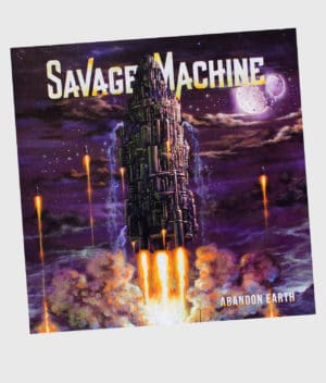 savage-machine-abandon-earth-vinyl-front