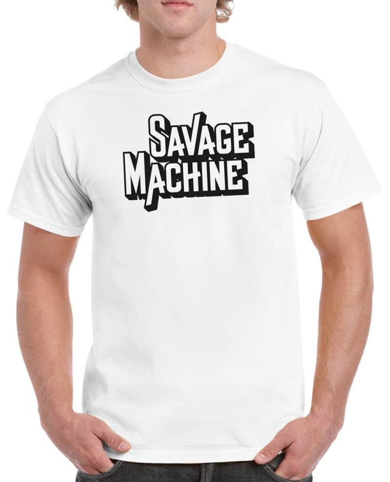 Savage Machine - Black logo (Guys)