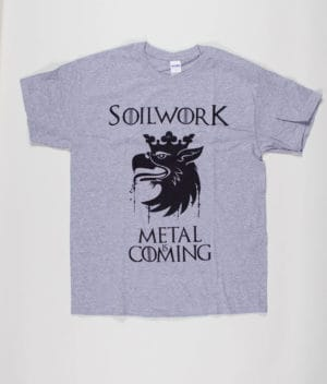 Soilwork - Metal Is Coming T-shirt w. tour dates (Guys)