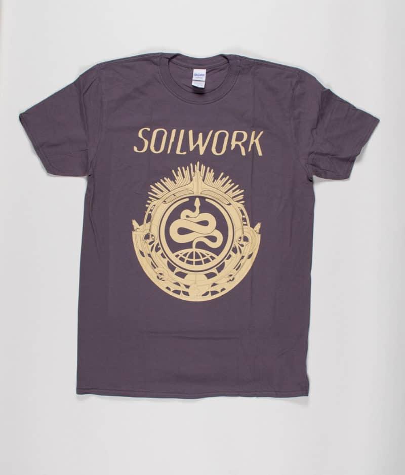 Soilwork Snake Symbol T Shirt Guys Merch City
