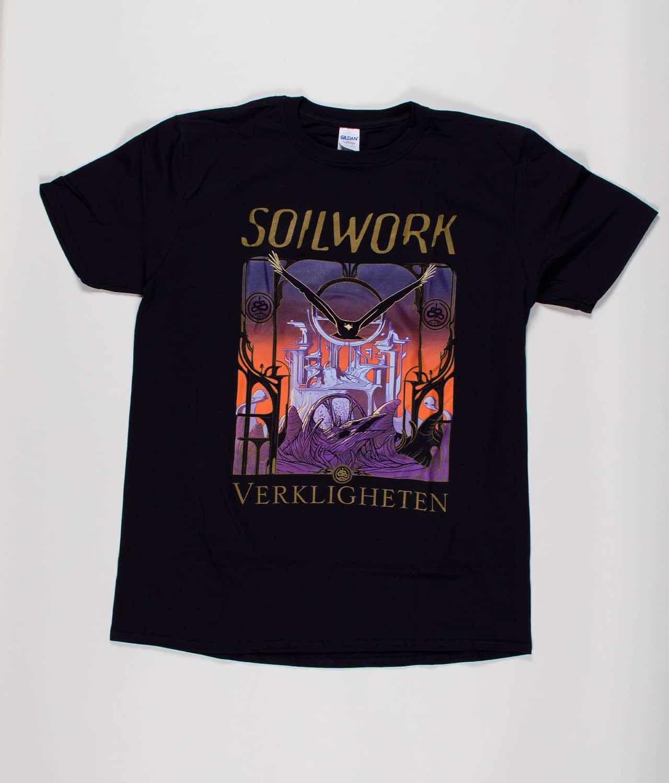Soilwork Verkligheten T Shirt Guys Merch City
