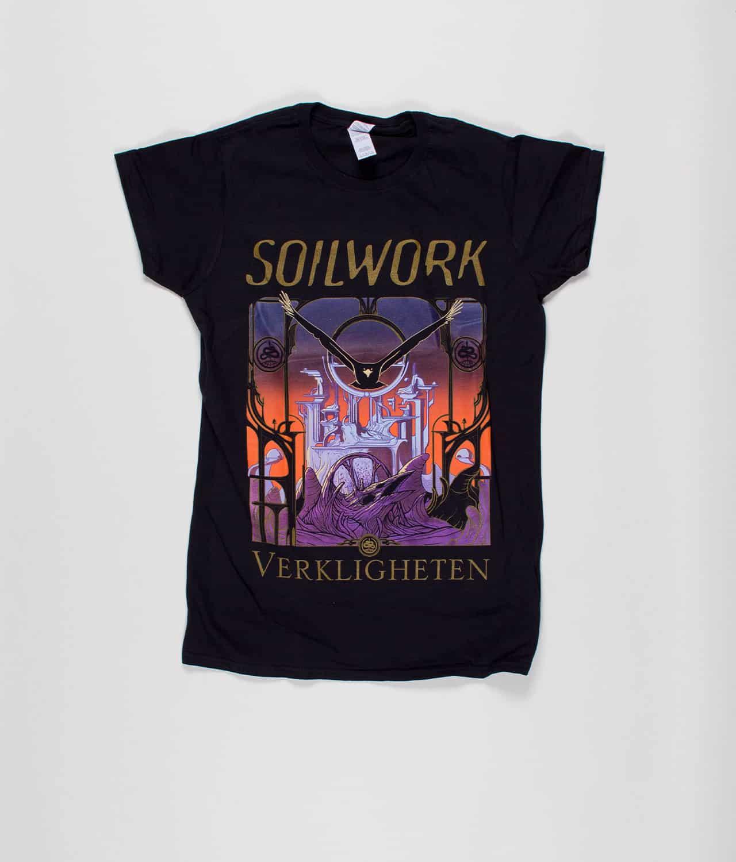 ee69a928 Soilwork - Verkligheten T-shirt (Ladies) - Merch City