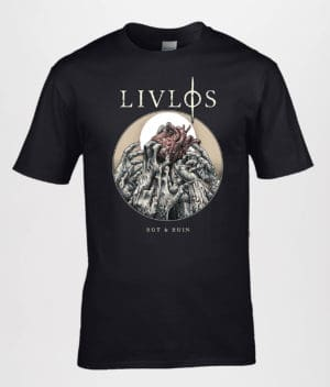 LIVLØS: Sort Rot & Ruin T-shirt (Guys)