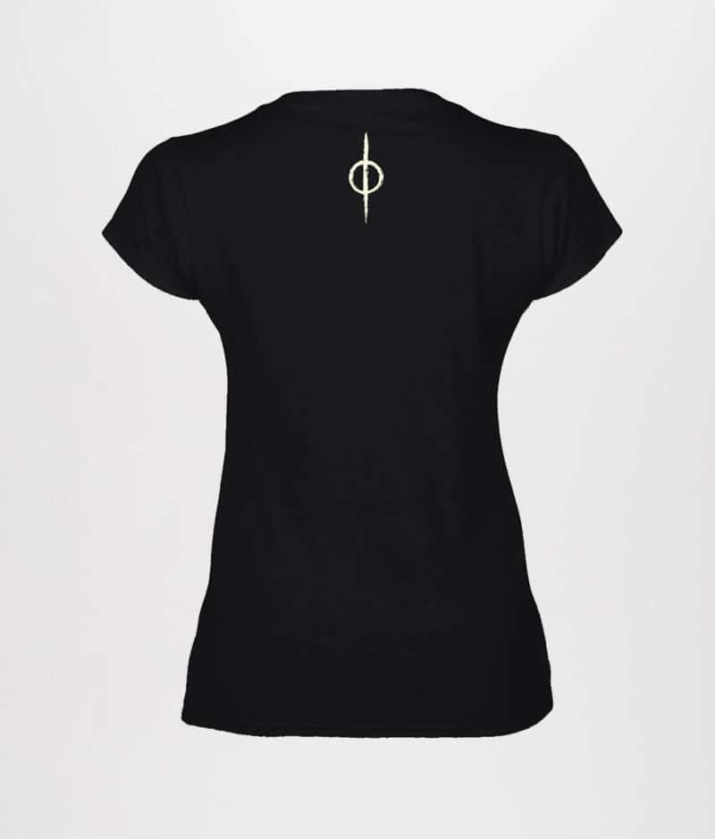 LIVLØS: Sort Rot & Ruin T-shirt (Ladies)