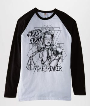 Unseen Faith - Baseball t-shirt
