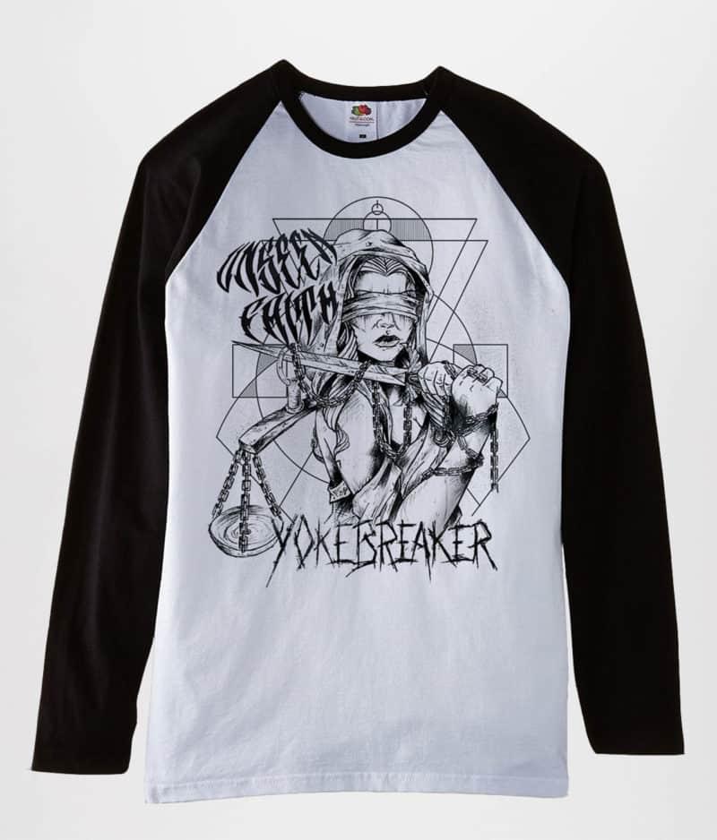 Unseen Faith - Baseball t-shirt