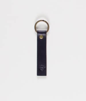 unseen-faith-black-leather-keychain