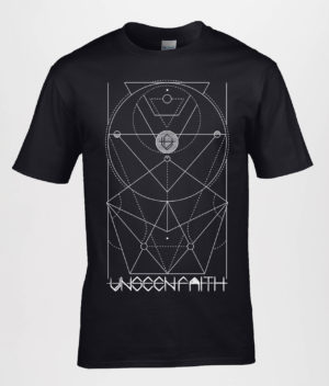 Unseen Faith - Geometric t-shirt