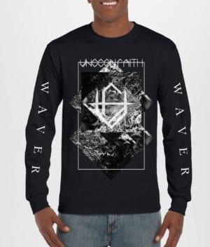Unseen Faith: Black Long Sleeve T-shirt