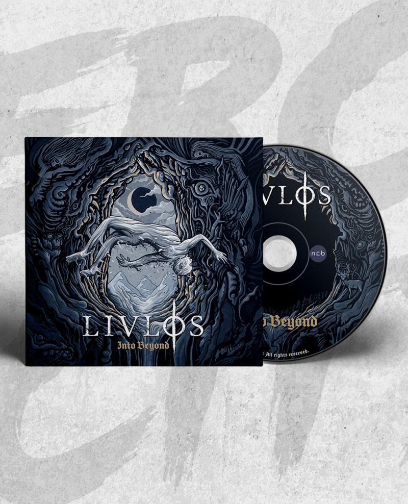 LIVLØS: Into Beyond Long Sleeve T-shirt + CD Bundle