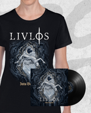 LIVLØS: Into Beyond T-shirt vinyl bundle (girlie)