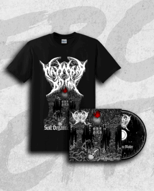 Wayward Dawn: Soil Organic Matter T-shirt + CD Bundle