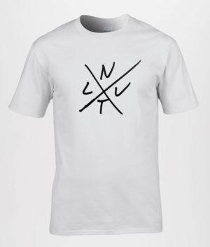NYT LIV: White T-shirt w. Logo