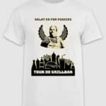 tour de grillbar-tshirt-salat er for pussies-white-front