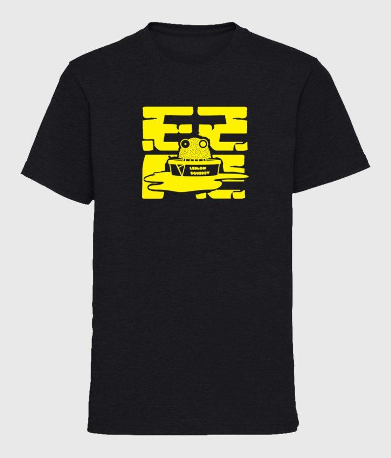 ComKean - Black EZPZ T-shirt - Final Print!