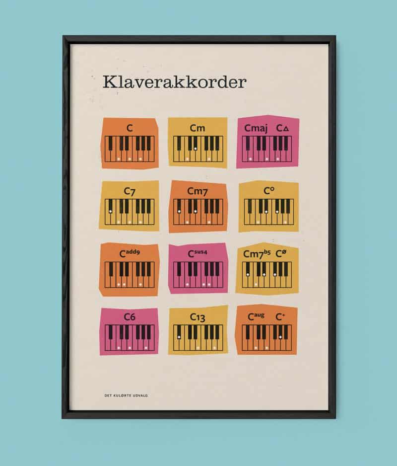 Det Kulørte Udvalg - Klaverakkorder