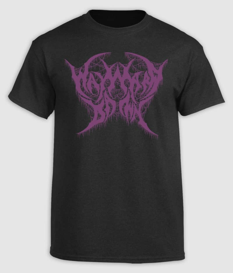 Wayward Dawn - Black and Purple logo T-shirt