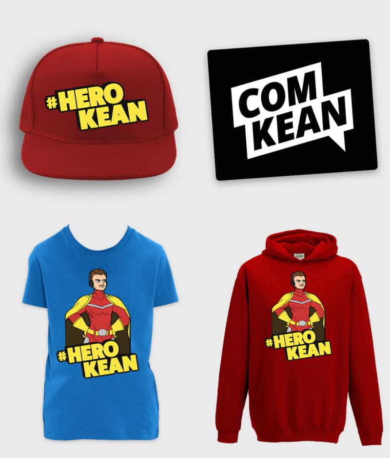 ComKean - HeroKean Bundle - inkl. musemåtte