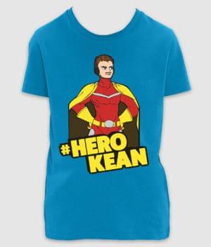 comkean-herokean-tshirt-mini creator-azur-front