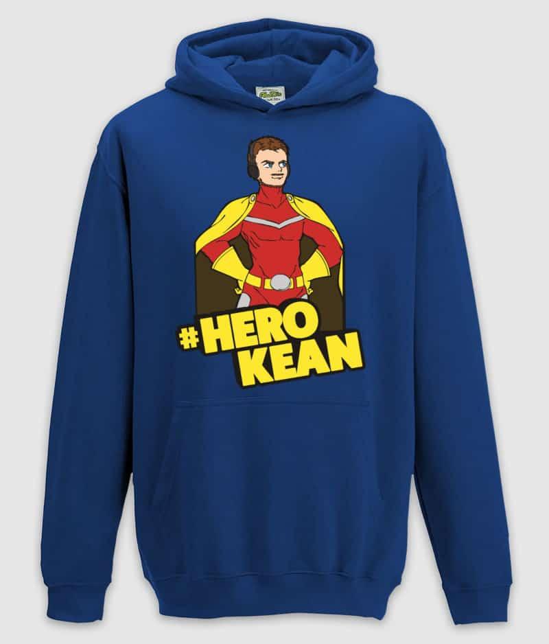 comkean-herokean hoodie blue