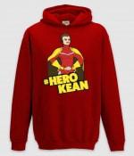 comkean-herokean hoodie red