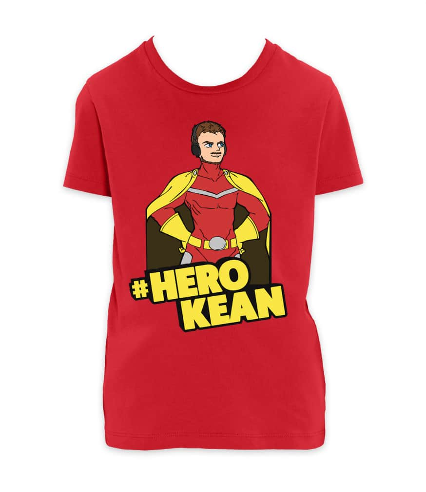 comkean-herokean tshirt red