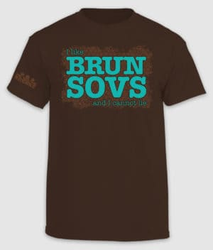 dbr-tshirt ilikebrunsovs dark-chocolate