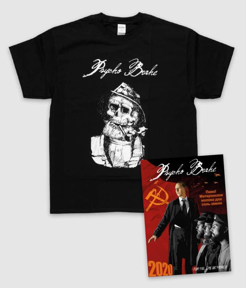 Psycho Brahe - 2020 Kalender + Fiskermand T-shirt