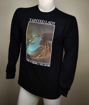 taintedlady-longsleeve freedomwar color