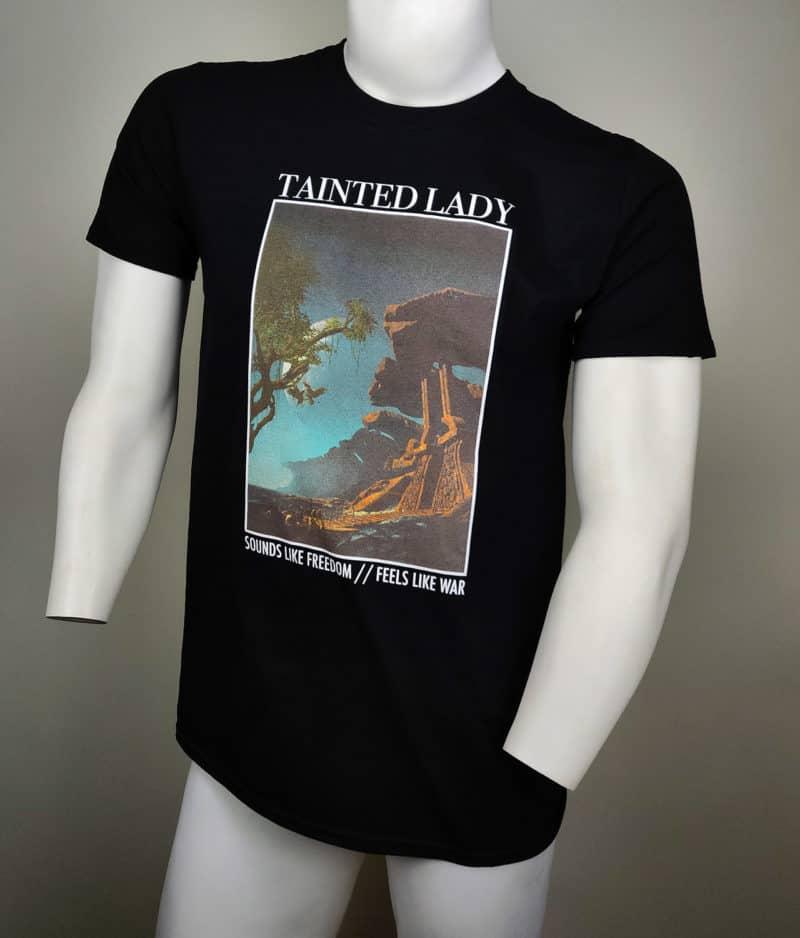 taintedlady-tshirt freedomwar color