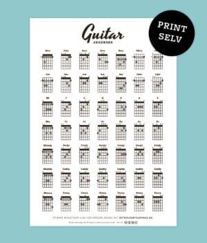 print-selv-guitarakkorder