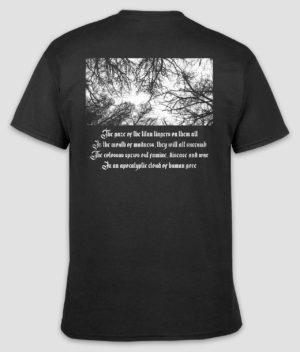 ferocity-tshirt-reminiscence of a tyrant-black-back