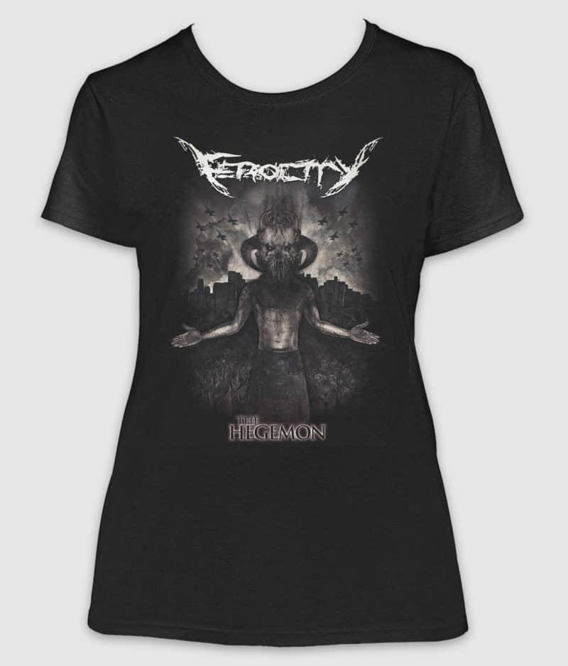ferocity-tshirt-the hegemon-girlie-black-front