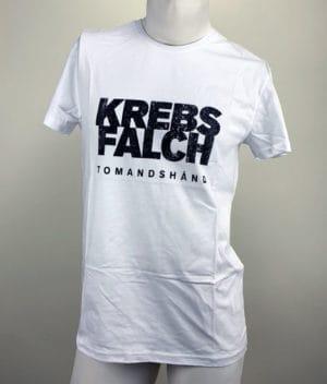 Krebs & Falch - Tomandshånd hvid T-shirt