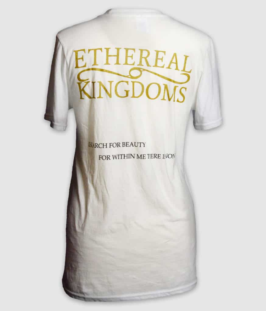 ethereal kingdoms-ashes-within-white-back-t-shirt