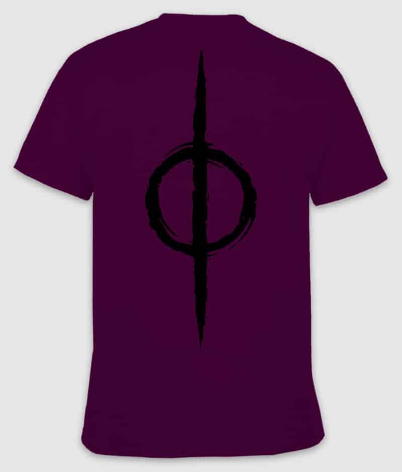 livløs-tshirt-logo-maroon-back