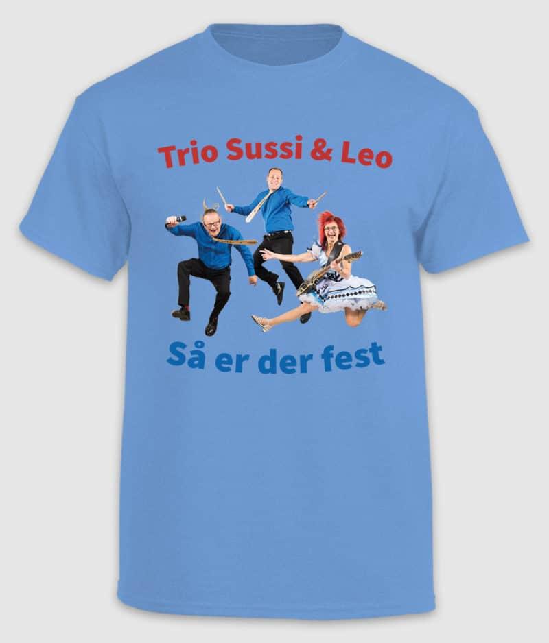 sussi leo-tshirt-så er der fest-blue-front