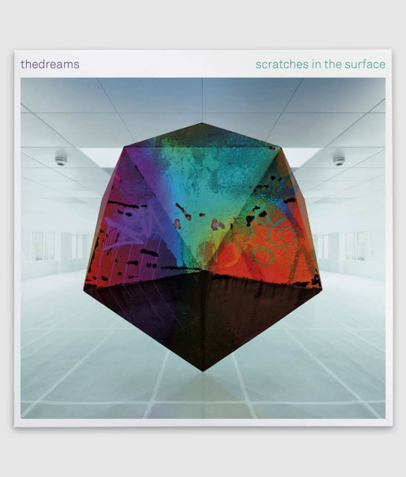 the dreams-vinyl-scratches in the surface-front