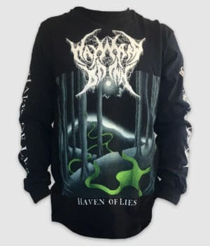 wayward dawn-longsleeve-haven of lies-black-front