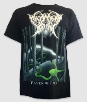 wayward dawn-tshirt-haven of lies-black-front