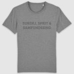 samfundssind-tshirt-creator-surdej sprit samfundssind-mid heather grey-front