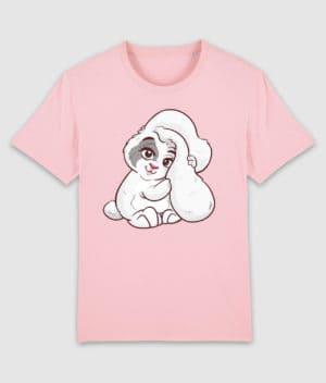 kaytrayne-tshirt-bunny-cotton pink-front