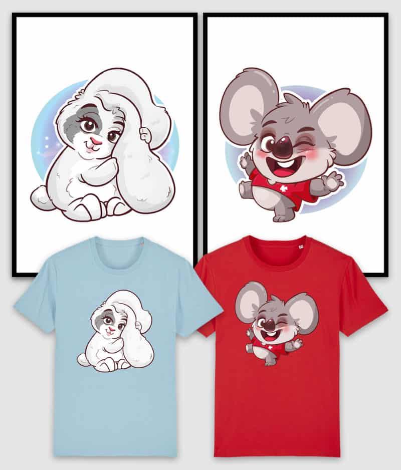 kovates kaytraine-bundle-tshirts-posters