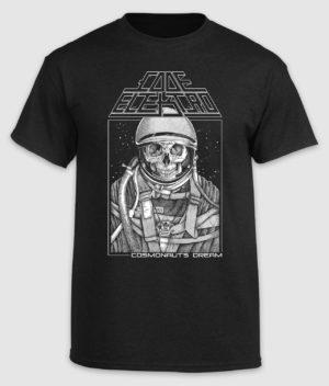 code elektro-cosmonauts dream-tshirt-black-front